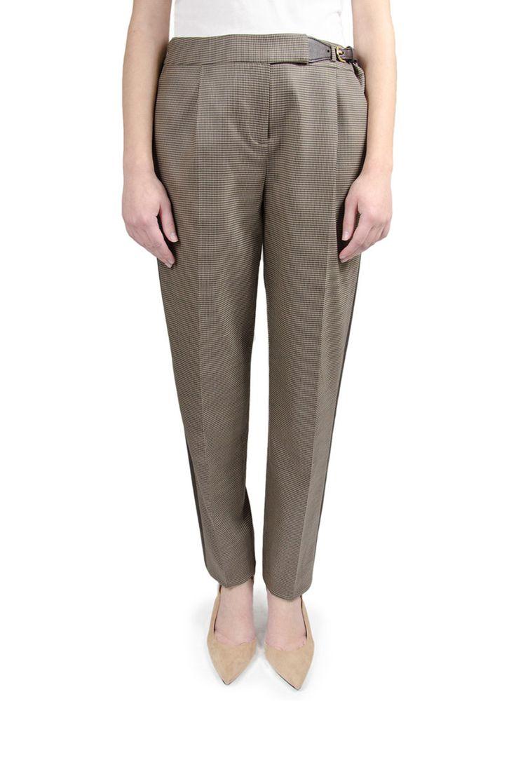 Ted Baker Buckle Waist Contrast Trouser