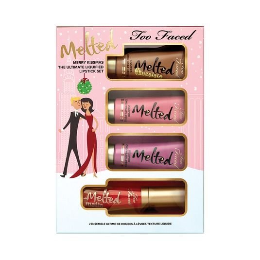 Four lippies in one box. Includes two best-selling Melted shades, Chihuahua and Fig.