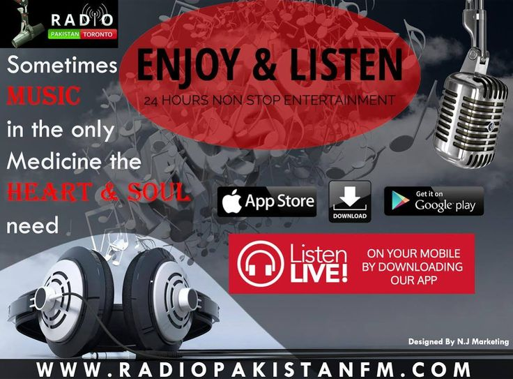 "Getting Bore ? Don't Be More , What Are You Waiting For ? You Can Also Suggest Us Your Favorite Musics Or Discussion On Our Toll Free Number 416-593-0003! Log on to http://www.radiopakistan.fm/ and Enjoy Quality Entertainment 24/7. *** Listen on your Smartphone by Downloading our app: Android Device @ https://goo.gl/tq1VDm iPhone @ http://goo.gl/TQlv2G Tunein - ""Radio Pakistan Toronto"" or Simply Search ""Radio Pakistan Toronto"" in the app store! *** **** Listen by Calling ***  TORONTO:"