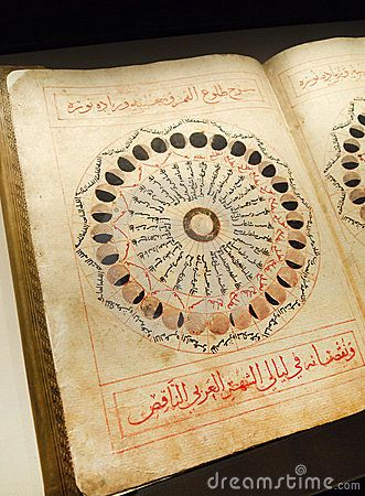 Astronomy - Antique arabian book