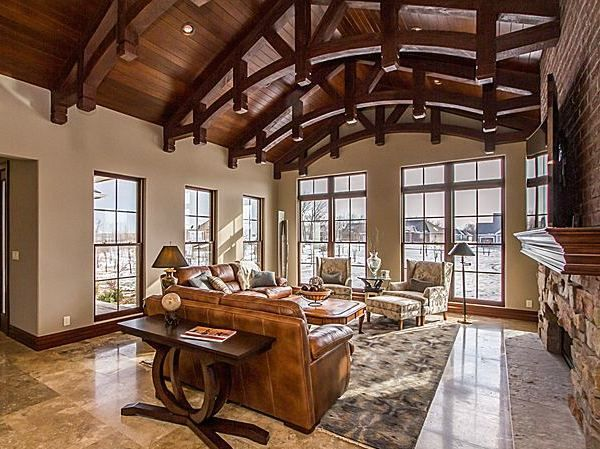 236 Best Ceiling Trusses And Arched Beams Images On