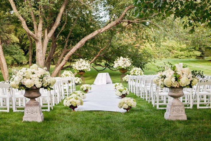 376 best ceremonies under trees up the creeks farms for Outdoor wedding ceremony decorations pictures
