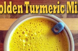 Here's how I keep it on hand for ease of use:  In a small jar combine:  3 Tbsp turmeric 2 tsp black pepper 1 Tbsp powdered ginger Cover the jar and shake to combine To use: Mix 1 teaspoon of the powdered mix with 1 cup of milk Learn how to make your own Turmeric creation from Jason Wrobel, aka J-Wro, a vegan celebrity chef and raw food alchemist.