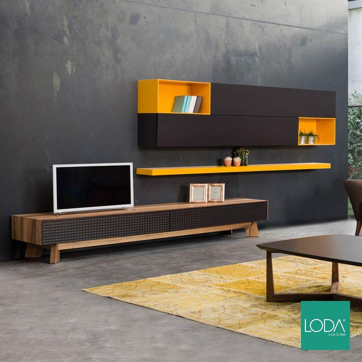 Siena TV Ünitesi / Siena TV Unit / #mobilya #furniture #tasarım #dekorasyon #stil #style #design #decoration #home #homestyle #homedesign #loft #loftstyle #homesweethome #diningroom #livingroom #oturmaodası #tvünitesi #ahsapmobilya #lodamobilya