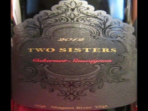 Two Sisters 2012 Cabernet Sauvignon (Ontario Wine Review #215)