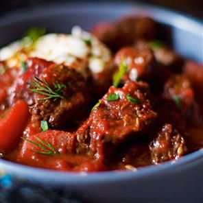 Spiced Beef and Beetroot Goulash Soup - Delicious