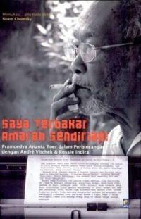 Saya Terbakar Amarah Sendirian!, dari Pramoedya Ananta Toer