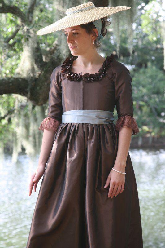 A closer view-bridesmaid option: Dress Patterns, Dresses, Costume, Sensibility Patterns, Blog, Century Fashion, 1780S Portrait