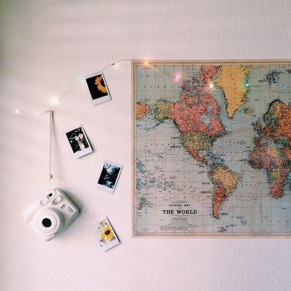 World Map Poster - Urban Outfitters                                                                                                                                                                                 More