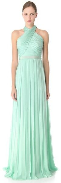 Cross Front Gown - Lyst