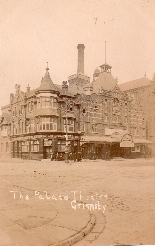 Palace buffet thearter great grimsby 1907
