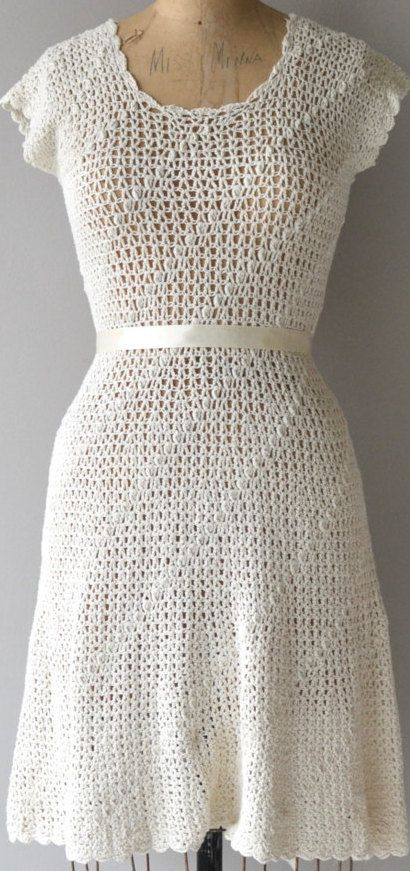 Pacifico crochet dress