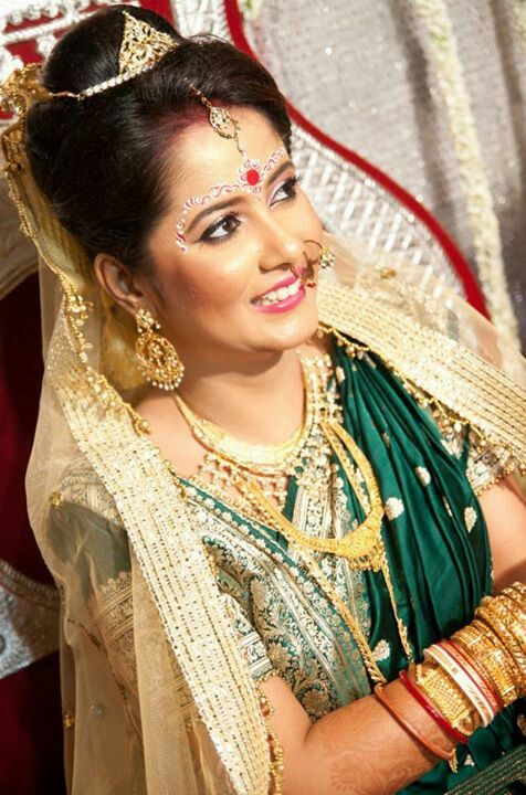 17 Best Images About Bengali Bridal Makeup On Pinterest | Receptions Wedding And Bengali Bride