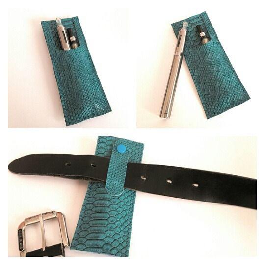 pochette pour cigarettes électroniques, étui à cigarette électronique, adaptable à la ceinture. : Etuis, mini sacs par doudous-mad-in-toudou