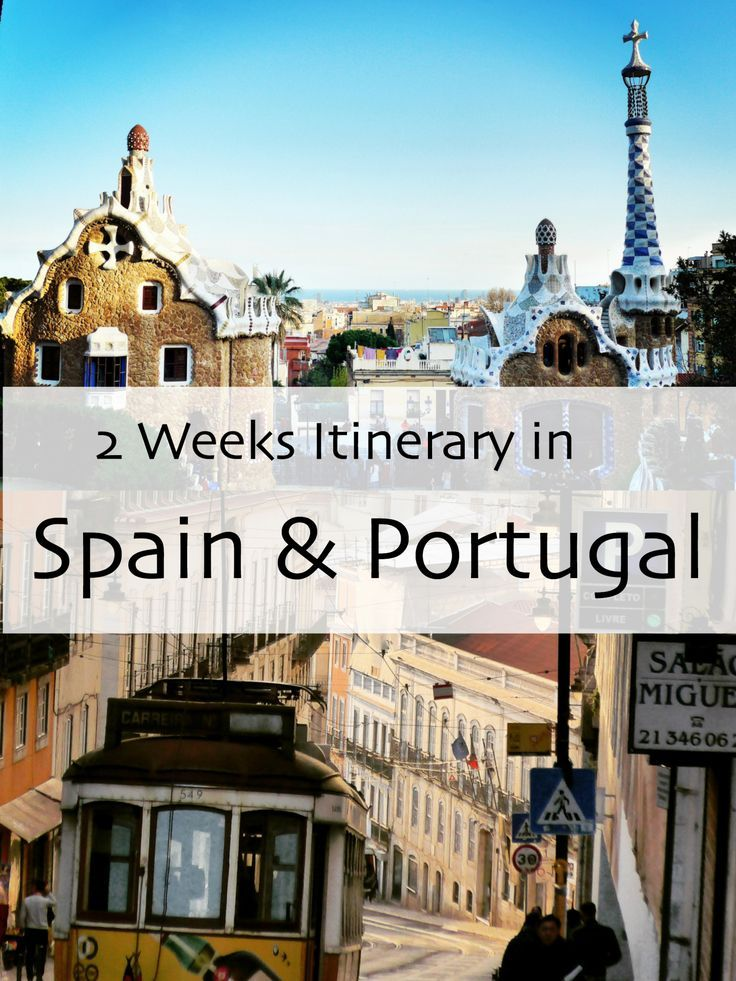 2 Weeks Itinerary for Spain & Portugal At this time last year I was backpacking solo for two weeks in Spain & Portugal. It all started a few weeks before departure, when I learned I had two weeks off school for spring break in stead… Travel, blog, traveler, backpacker, backpacking, travel tips, world traveler, travel blogger, travel blog, Europe, Spain, Portugal, Seville, Porto, Lisbon, Bareclona, Tram