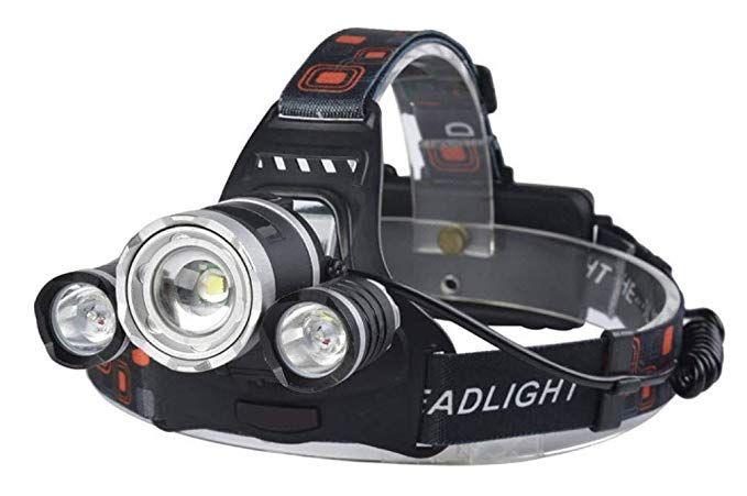 Headlamp Teekay Usb Rechargeable Waterproof Led Ipx45 Headlamp Flashlight Torch With Battery Pack 8000 Lumens Zoomabl Waterproof Led Usb Rechargeable Hunting