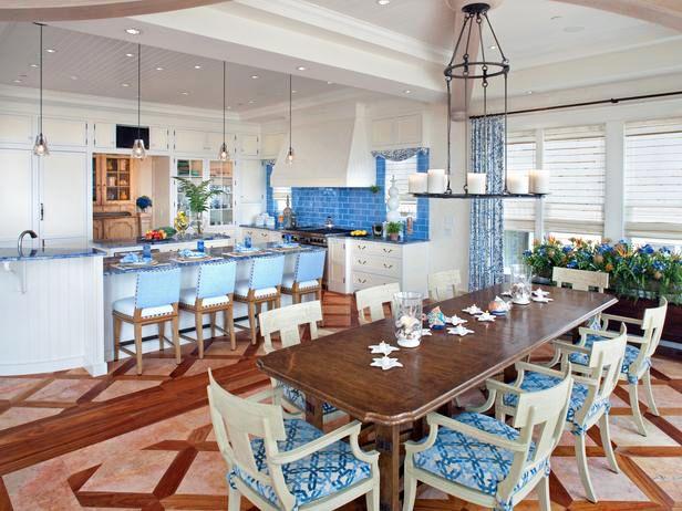 Die besten 25+ Coastal inspired modern kitchens Ideen auf - maritimes esszimmer einrichten