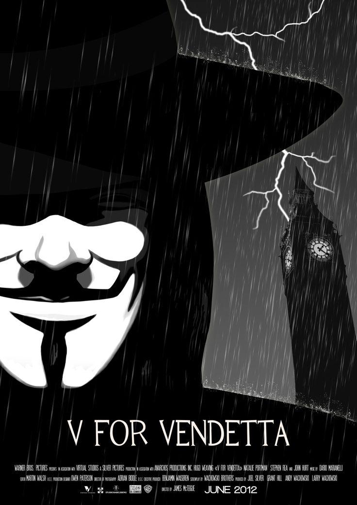 V for vendetta by RaphaelKucharski.deviantart.com on @deviantART