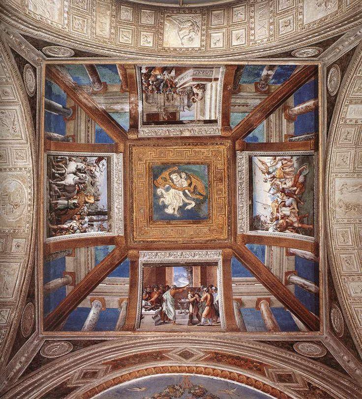 Лоджия Рафаэля. Апостольский дворец. Ватикан