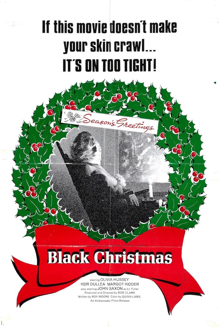 BLACK CHRISTMAS movie poster and review