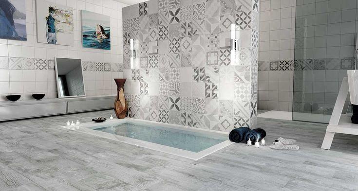 GEOTILES Vintage Bathroom by SAXS