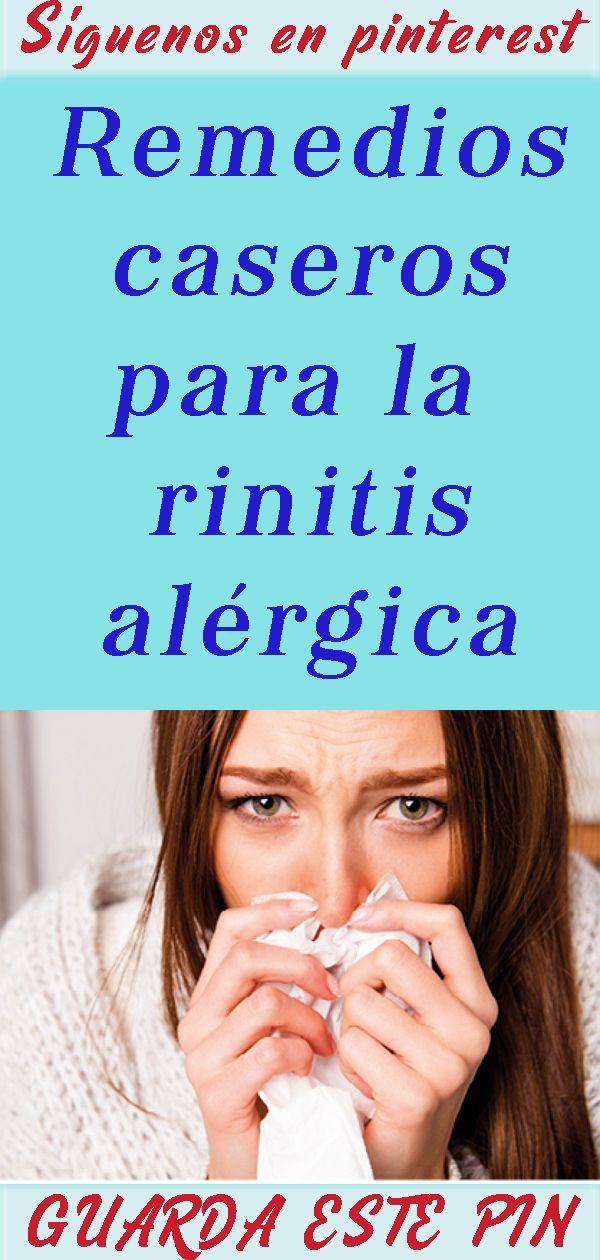 Remedios Caseros Para La Rinitis Alérgica Engagement Women