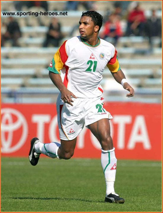 Habib Beye - Senegal - Coupe d'Afrique des Nations 2004