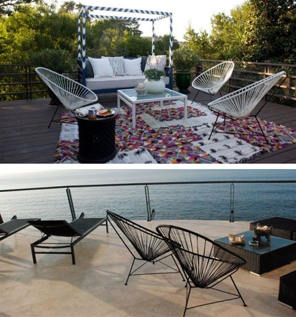 Acapulco Chair Outdoors | Inmod STYLE | For the Home ...