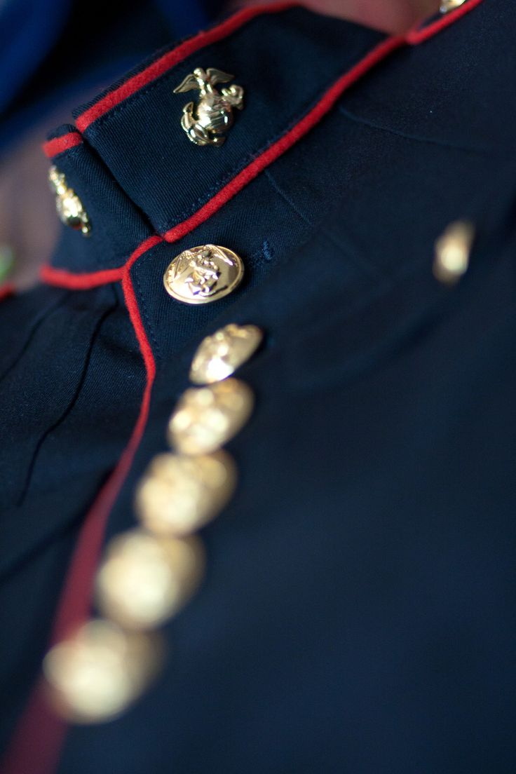 Marine Dress Blues #USMC #MarineCorps #usmarines