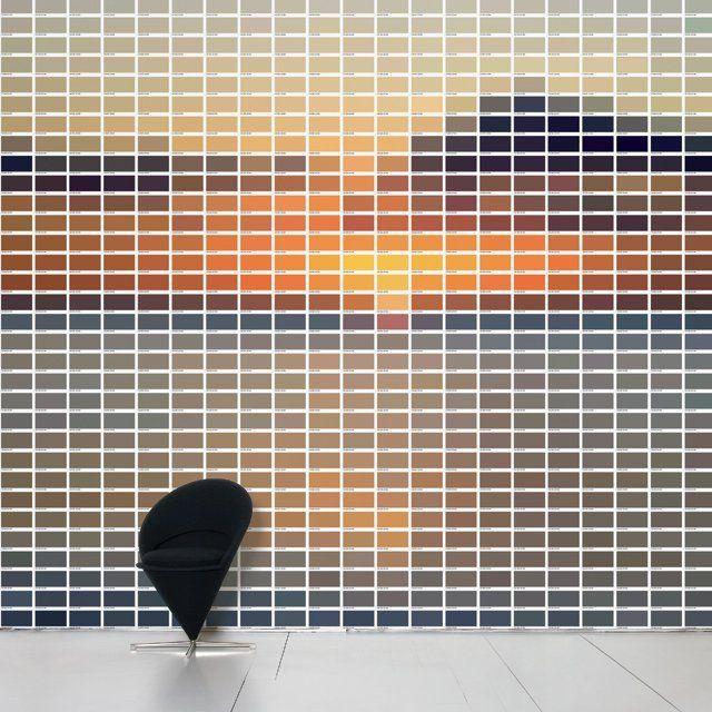 sun 736 wall decal