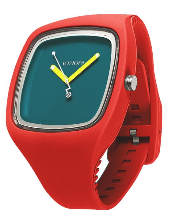 IOIION BIG in Rosso http://www.italcompany-ioion.nl/ioion-big-fashion-horloge-red-rosso-ionwat309.html