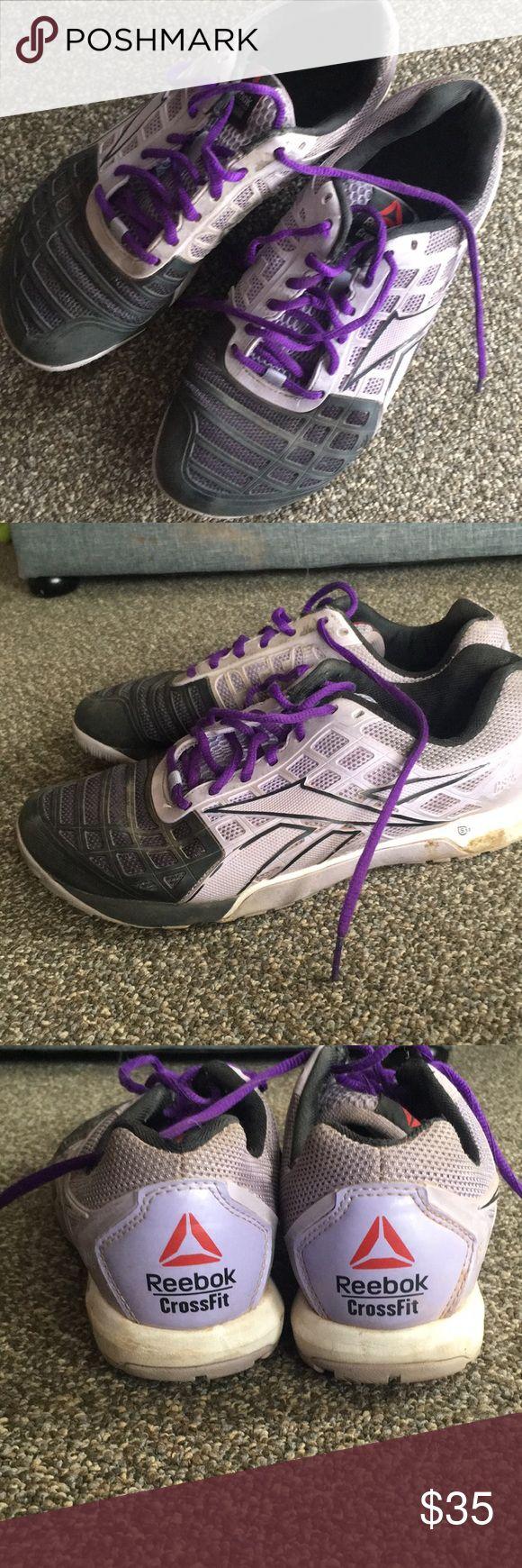 Reebok crossfit nano 4 Lilac reebok crossfit nano 4s! Worn a few times but not a whole lot. Reebok Shoes Sneakers