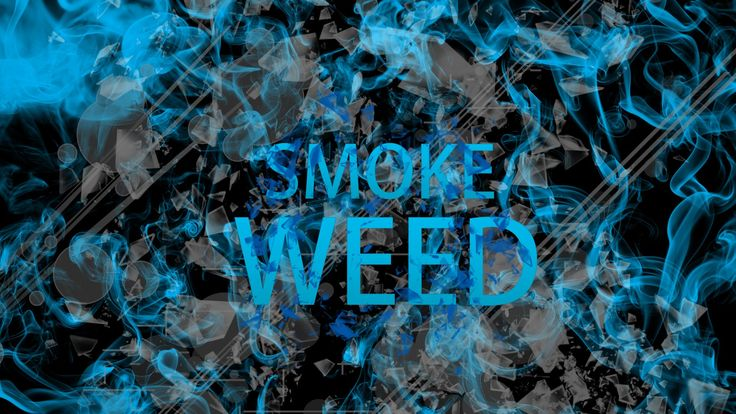 #blue #smoke #weed #sign