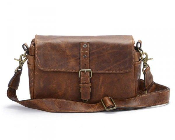 Ona Bowery Shoulder Bag - Antique Cognac Leather