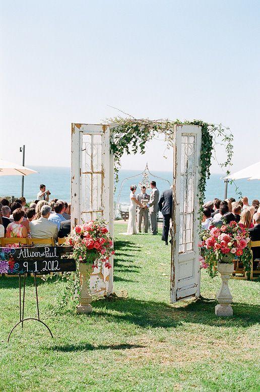 Pretty Wedding Ceremony Decor