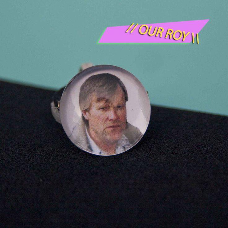 Roy Cropper Badge/Ring by KrissoMarko on Etsy https://www.etsy.com/listing/507846604/roy-cropper-badgering