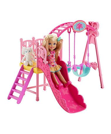 Look What I Found On Zulily Barbie Chelsea Swingset