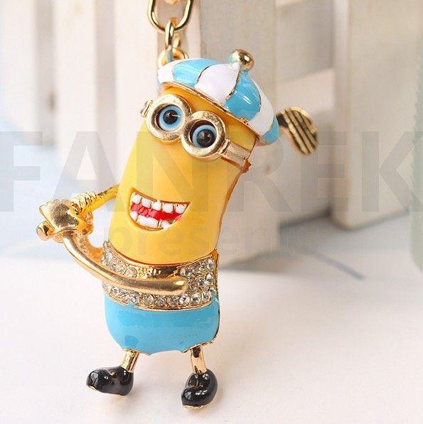 Minions Despicable Me Key Chain