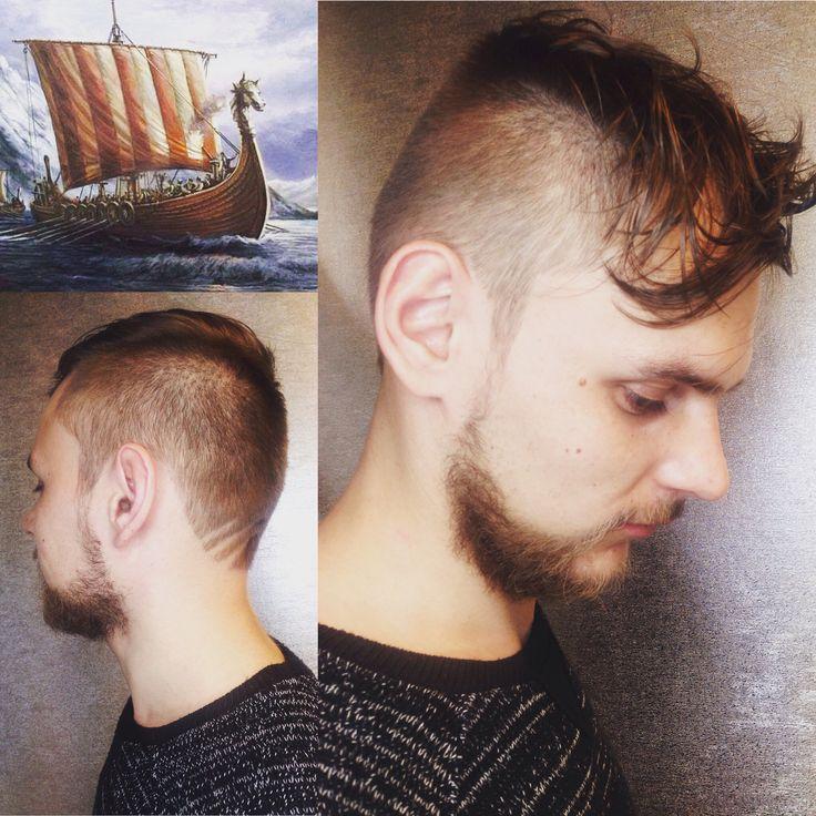 Viking's haircuts  By Vera Belaya