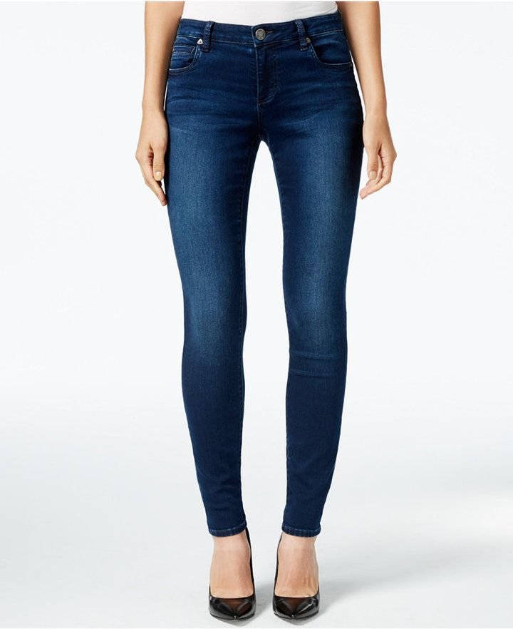 Kut from the Kloth Mia Toothpick Skinny Jeans, Kindness Wash - would love  these in - Best 25+ Blue Skinny Jeans Ideas On Pinterest Skinny Jeans, Blue