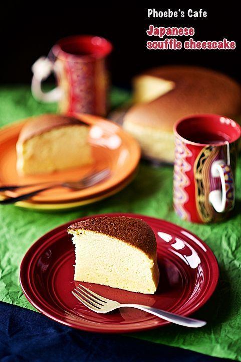 일본 수플레 치즈케익 레시피, 베이킹, 디저트,케익,오븐 요리,