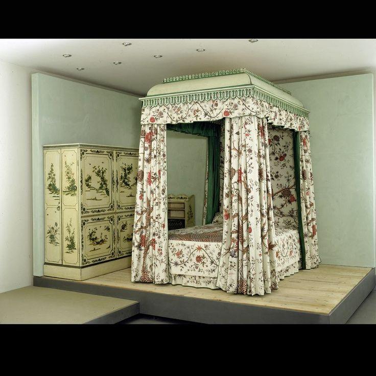 Garrick's Hampton house_stanza da letto