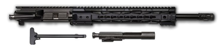 "COMPLETE AR-15 Upper Assembly - 16"" / 7.62 X 39 / BCG & CHH Included / 12"" CBC Keymod AR-15 Handguard / Rail"