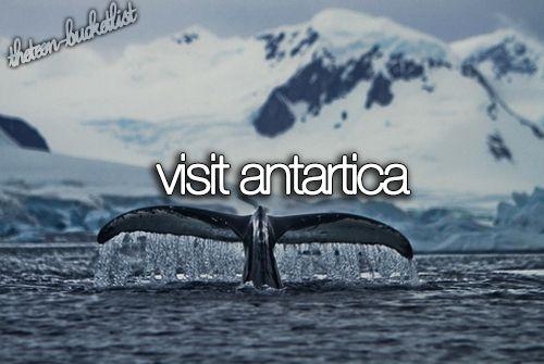 Visit Antarctica / Bucket List Ideas / Before I Die / #BLI_Countries