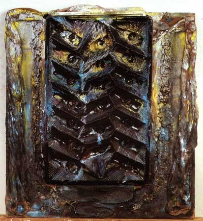 "Erna Rosenstein: ""Schweigen"", 1993. Fot.  Jacek Kucharczyk"