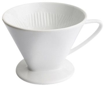 Porcelain Filter Holder # 2 - contemporary - Coffee Makers And Tea Kettles - Frieling USA, Inc.