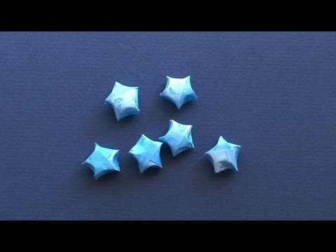 ▶ Lucky Star: How to make a paper Lucky Star - Easy Origami Instructions - YouTube