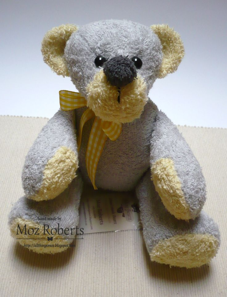 Scoopy - 100% Cotton, fully washable, safety eyes, doubly secured - Made by Moz!