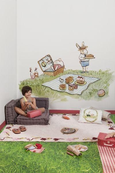 Murales infantiles de Coordonne