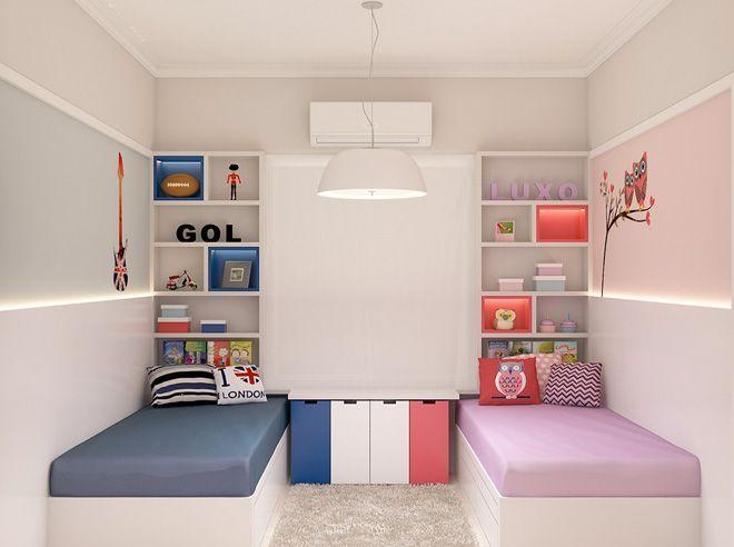 Habitaciones mixtas niño y niña
